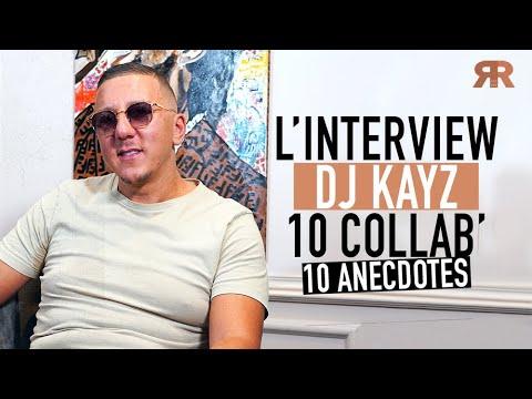 Youtube: DJ KAYZ – 10 collab' – 10 anecdotes avec Niska, JuL, Gradur, Gims, Kaza, Mister You, RK… [Interview]