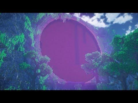 Giant Nether Portal! Minecraft Timelapse!