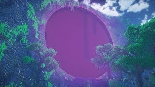 Giant Nether Portal! Minecraft Timelapse!