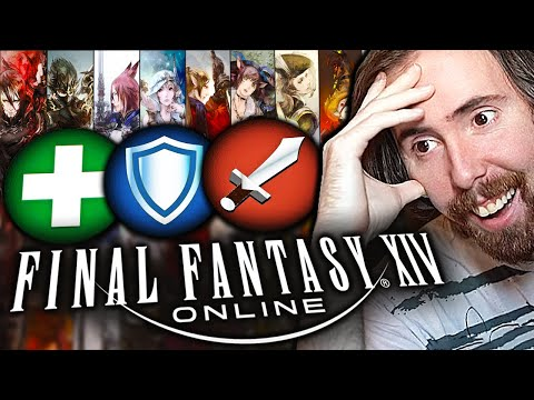 Asmongold Reacts to the BEST FFXIV Class/Job Picking Guide