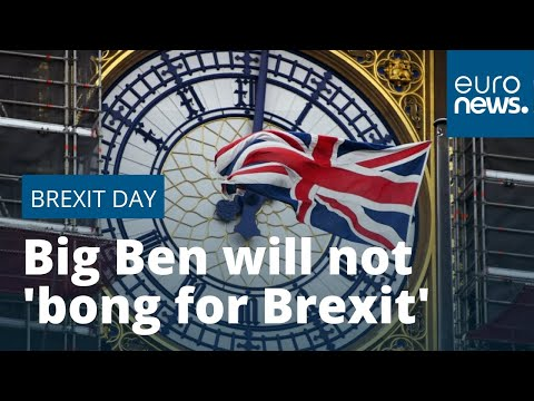 London's Big Ben will not 'bong for Brexit' on January 31, Downing Street has indicated
