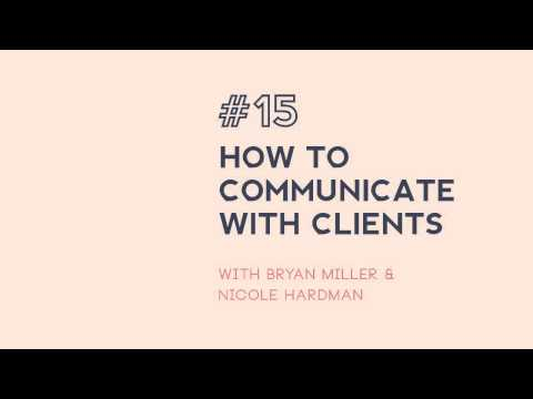 #15: How to speak to clients - tips for architects