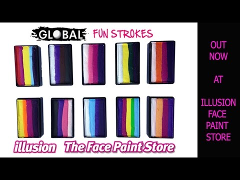 Around The World With New Global Face Paints   Illusion Face Paint Store