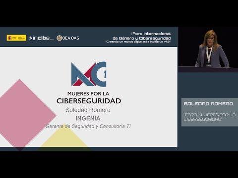 Soledad Romero: Forum Mujeres por la Ciberseguridad (Conference) (English)