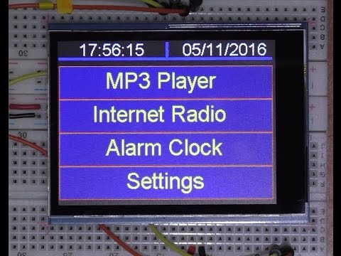 IOT Arduino project ( Teensy 3.6 ) Internet radio and MP3 player ESP8266 WIFI