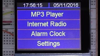 IOT Arduino project ( Teensy 3.6 ) Internet radio and MP3 player ESP8266 WIFI