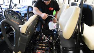 How to Use a Watering System for Your Golf Cart Batteries