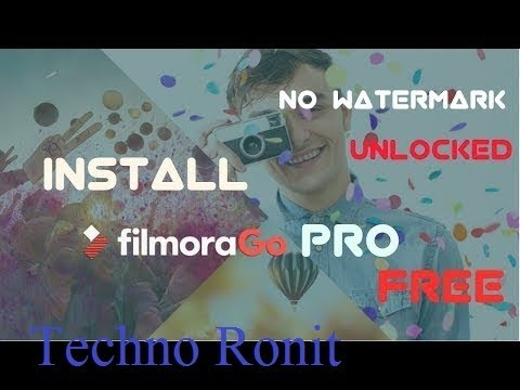filmorago pro apk no watermark free download