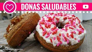 Receta de Donas Caseraras 🍩  Receta de Donas al Horno Saludables Gluten Free 🍩 Gluten Free