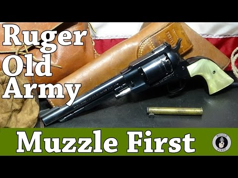 Bicentennial Ruger Old Army - My Dad's Favorite Gun