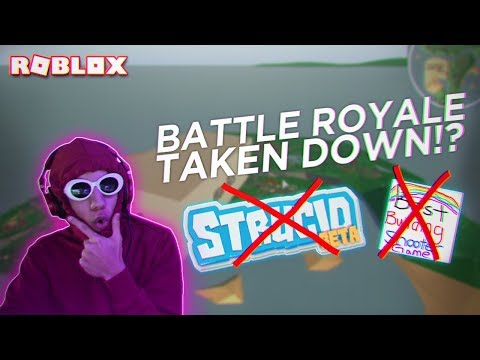 THEY TOOK DOWN STRUCID BATTLE ROYALE RIGHT AFTER RELEASING IT (Roblox)