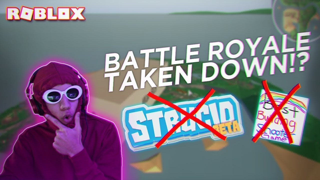 THEY TOOK DOWN STRUCID BATTLE ROYALE RIGHT AFTER RELEASING ...