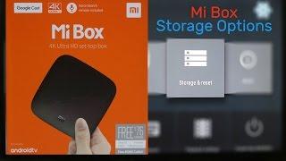 Mi Box Storage Options & Connect USB Drive