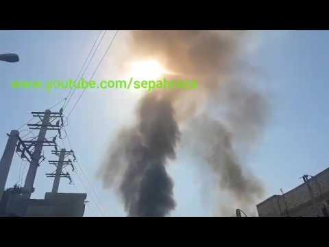 انفجار در شهریار تهران