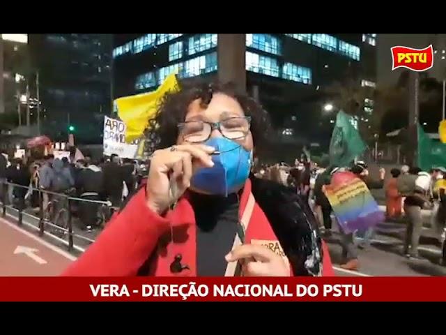"""Ato """"13 de maio"""" da Av. Paulista - SP"""