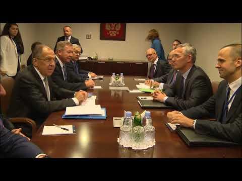 С.Лавров и Й.Столтенберг | Sergey Lavrov & Jens Stoltenberg