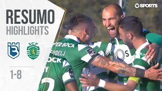 Highlights | Resumo: Belenenses 1-8 Sporting (Liga 18/19 #32)