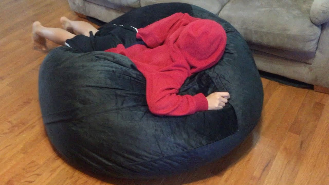 what size bean bag chair do i need black club chairs sofa sack bags memory foam youtube