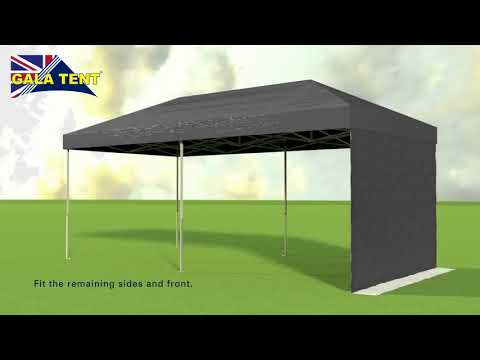 How To Erect A 3m X 6m Gala Tent Pro MX Shade