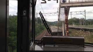函館本線721系前面展望 納内〜近文駅まで隧道5本を撮影