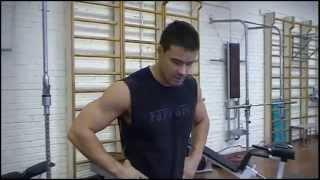 Уникальное упражнение на все группы мышц №2 - протяжка толчковым хватом + жим