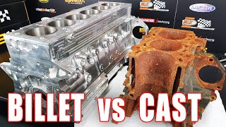 What is a BILLET ENGINE, and when should you get one? vs cast 2JZ: Bullet Race Engineering Tour.