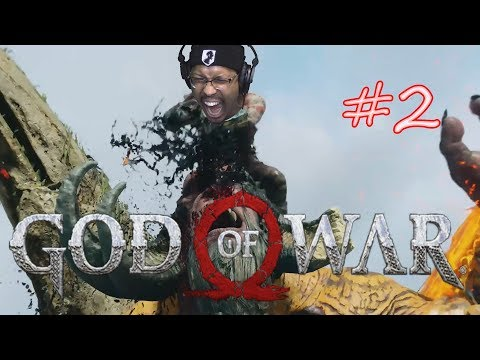 Kratos and Lil ATM Adventures!! | God Of War | Let's Play - Part 2