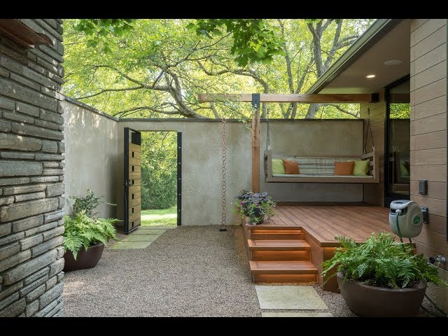 Private Courtyard Addition & Award Winning Project by The Cleary Company Remodel Design Build