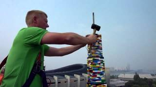 South Korean Toddlers Build The Tallest Lego Tower Ever