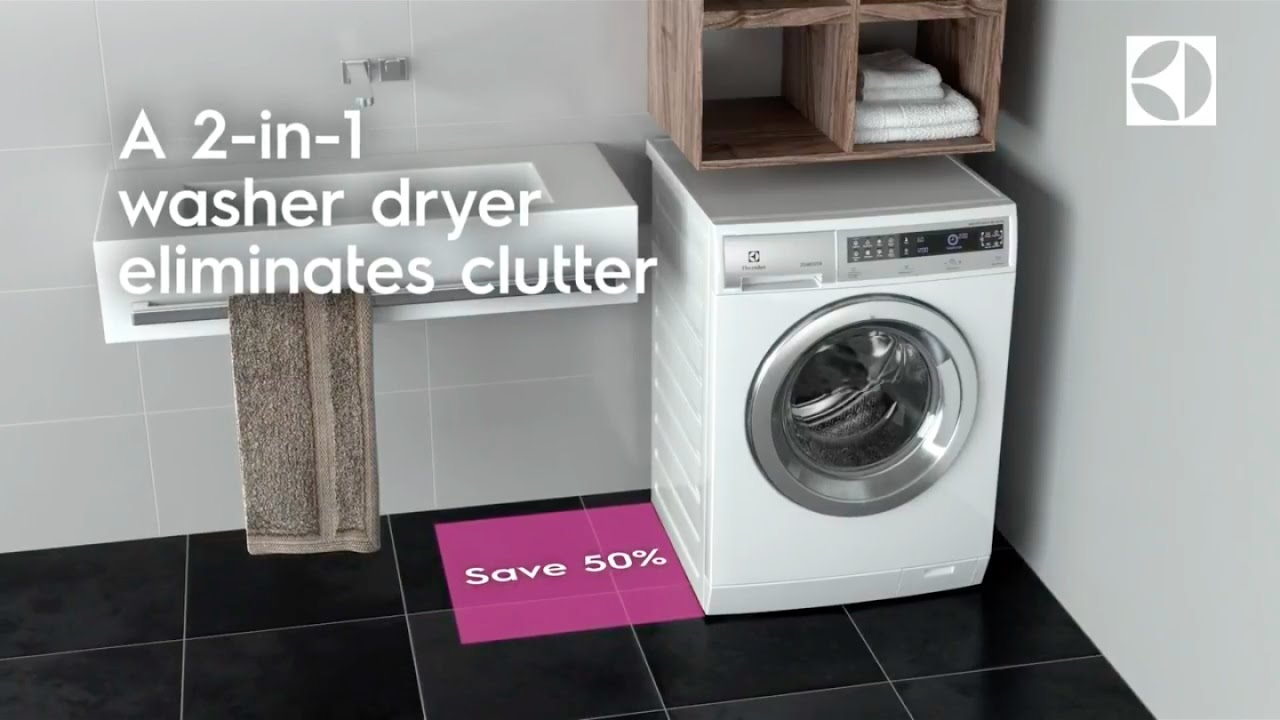 the compact collection nordic version electrolux washer dryer
