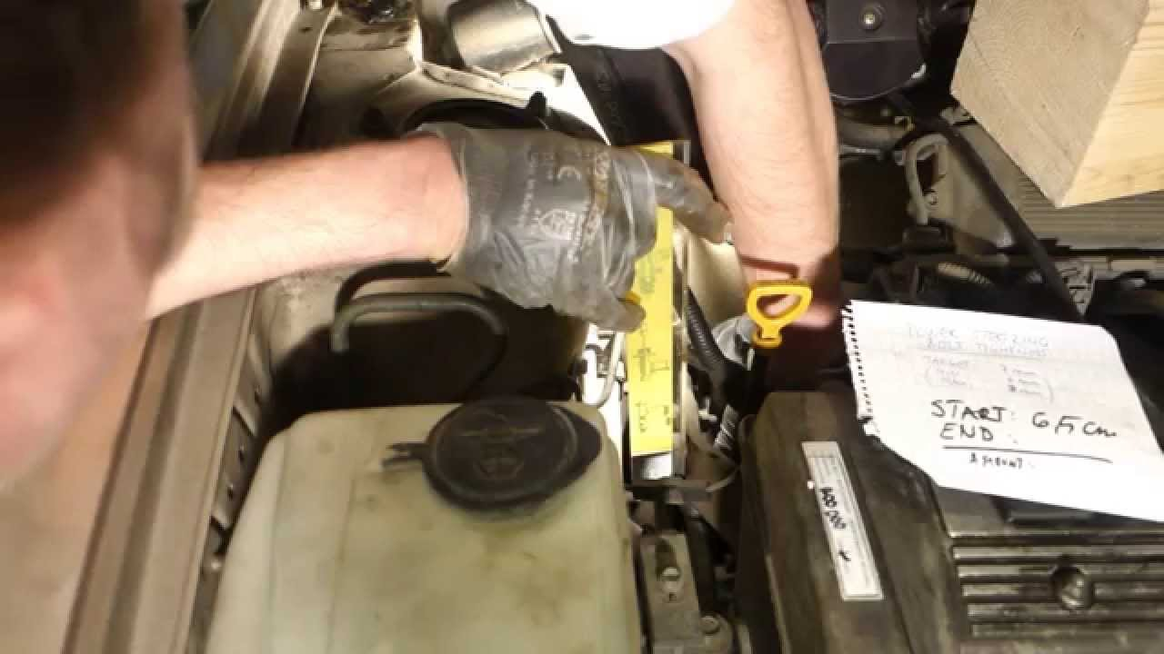 how to check power steering belt tightness toyota corolla years 1991 to 2000 [ 1280 x 720 Pixel ]