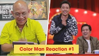Color Man Reaction #1: Thách Thức Danh Hài 5 chọc Trường Giang cuời đâu có khó