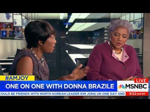 Joy Reid's Spin of Donna Brazi donnabrazile