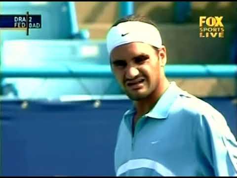 Cincinnati 2003 R1 - Federer vs Draper