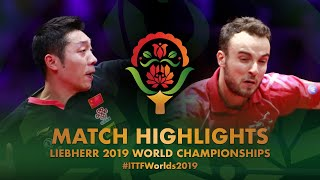 Simon Gauzy vs Xu Xin | 2019 World Championships Highlights (R32)