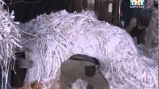 В Саратове появились ящики для сбора макулатуры(Пустят в дело. В Саратове появились ящики для сбора макулатуры. Пока контейнеров около десятка: их установи..., 2015-01-14T14:55:48.000Z)