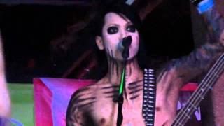 Black Veil Brides - Sweet Blasphemy (live @ Emo's - SXSW 3/19/11)