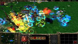 Warcraft 3 - Archimonde against all 16 Heroes
