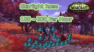 100 to 200 Per Hour Starlight Rose Farming Tips | World of Warcraft