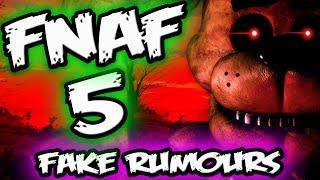FNAF 5 Confirmed? || FNAF 5 Rumour & Novel NEWS! || Five Nights at Freddy's 5 Confirmed Rumour
