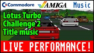 Lotus Turbo Challenge 2 Title song played by Tony Wirén
