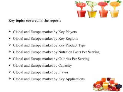 Global and Europe Fruit Juice Market Analysis and