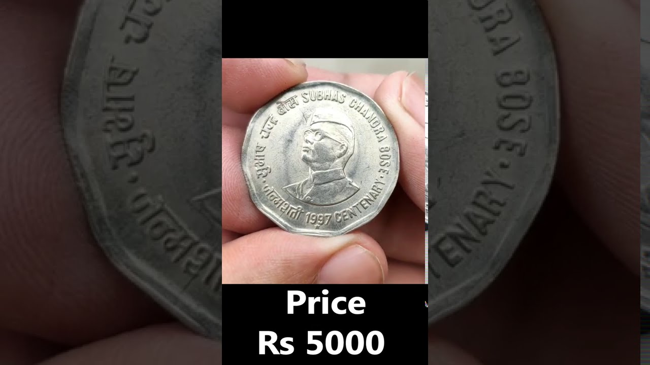Sell 2 Rs Subhash Chadra Bose Coin value ₹5000 Rupees l Indian Coin Mill