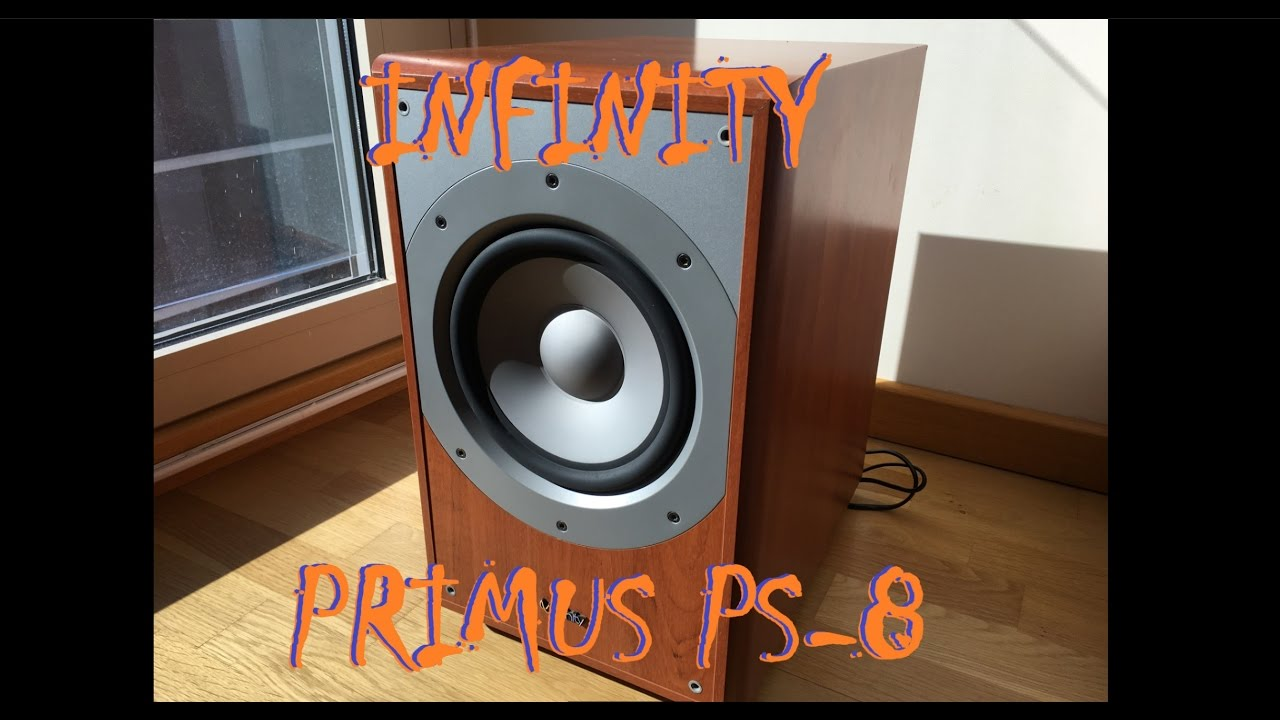 infinity primus ps 8 subwoofer pure bass test in 4k youtube rh youtube com Infinity PS8 Review infinity ps-8 service manual