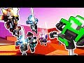 Clone Drone: KICK ONLY CHALLENGE! LAST BOT STANDING - Clone Drone in the Danger Zone Gameplay