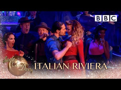 Strictly travels to the Italian Riviera of the 50s - BBC Strictly 2018