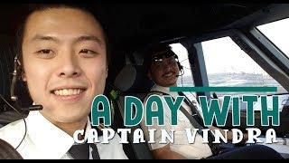 Citilink Flight - A day with Captain Vindra ( Vincent Raditya ) Cockpit Video