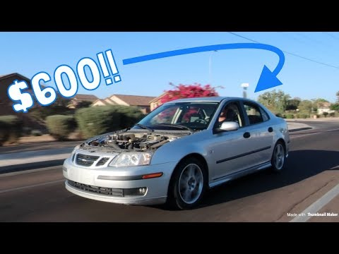 2003 Saab 9-3 Review - How Good is a Modified Manual Saab?