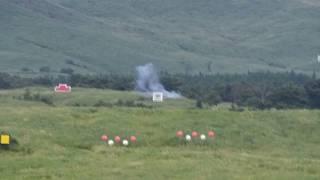 【弾道見える】中距離多目的誘導弾 発射〜着弾