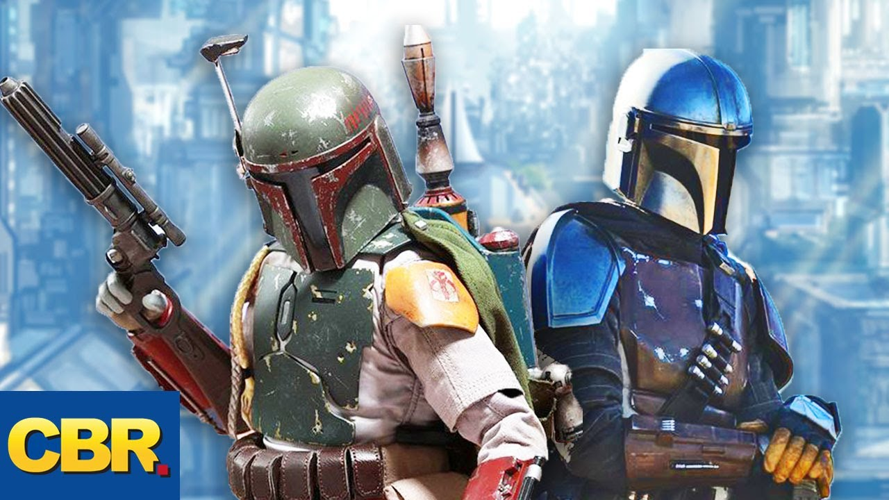 Boba Fett Is A Real Mandalorian Youtube